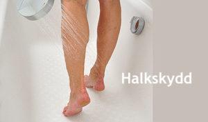 Halkskydd för badkar